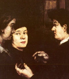 Augustin Théodule Ribot: The Conversation
